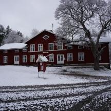 Bruksgården i vinterskrud