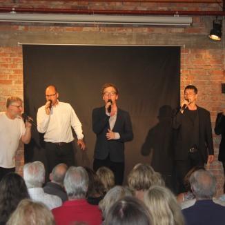Erik Lindman, Peter Boivie, Sebastian Rilton, Gunnar Axelson-Fisk o Henrik Ekman