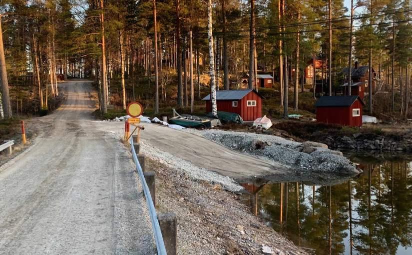 Ny plats för iläggning avbåt