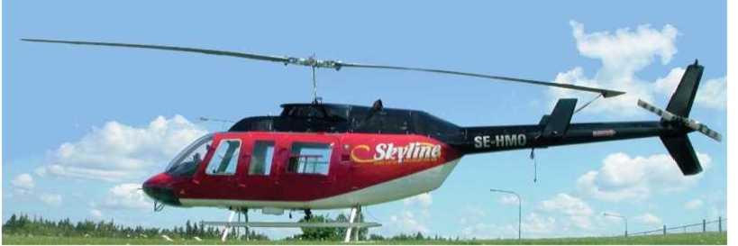 Helikopterflyg 4 augusti